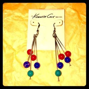 Jewelry - Colored Pin Ball Earrings
